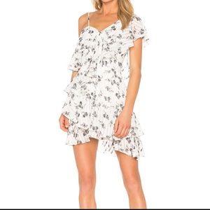 NWT $160 Revolve Elliatt Bloom Dress Size L One-Sh